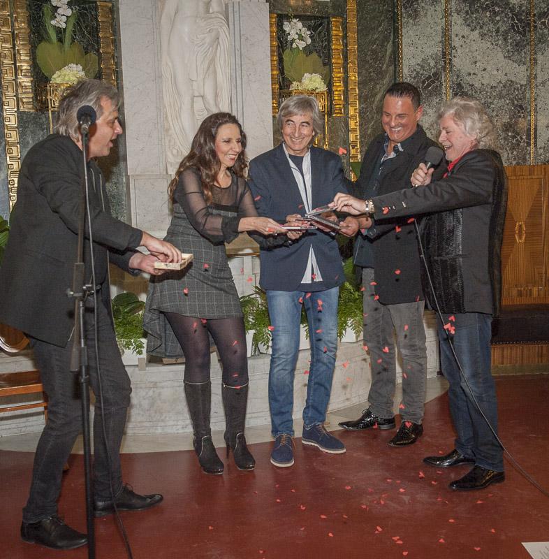 Jindřich Kraus pokřtil v Obecním domě své nové CD – Gratulovat přišli Štědroň, Mattioli, Randová a Boura