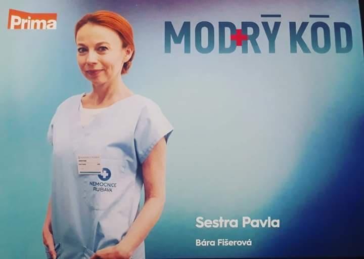 Úspěšná herečka Bára Fišerová – tváří TV PRIMA