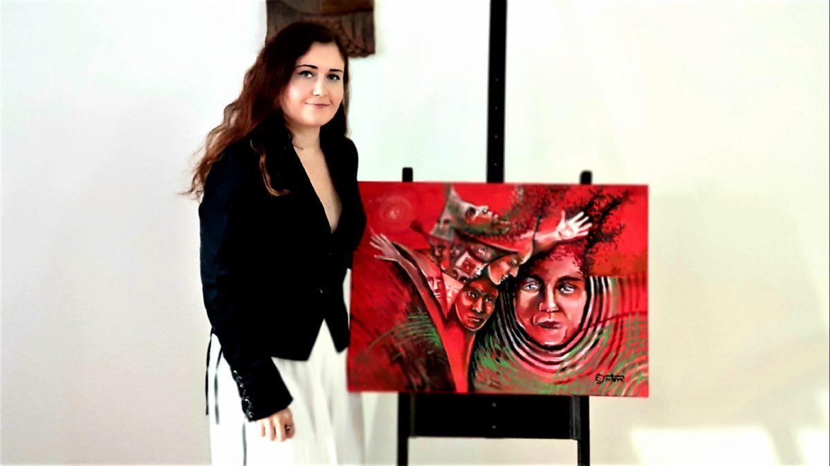 Režisérka a výtvarnice Eva Toulová vystavuje v bechyňské lázeňské galerii