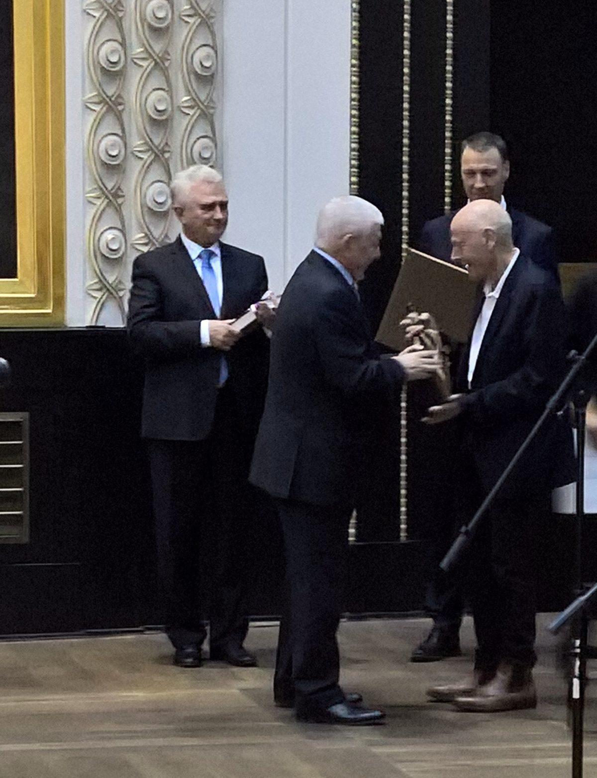 Nositelem prestižní Ceny Franze Kafky se stal Pierre Michon