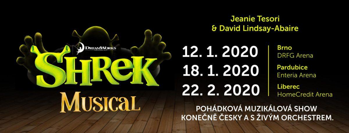 Muzikálová show SHREK se opět vrací na českou scénu: Uvidí jej diváci v Brně, Pardubicích i Liberci