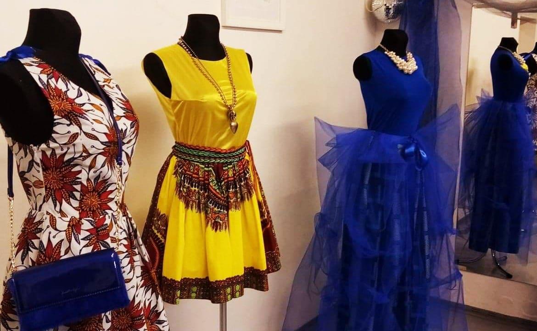 Přehlídka tvorby oděvní výtvarnice Jany Kohoutové v Art Centrum Botič