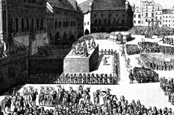 Děsivé divadlo na Staroměstském náměstí v Praze
